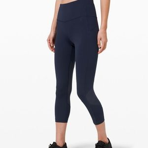 "Lululemon Pace Rival Crop 22"" Leggings"